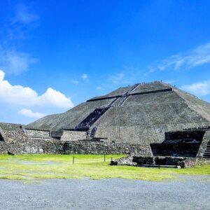 pyramid, mexico, aztec